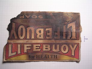 Lifebuoy Soap wrapper